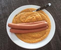 Kartoffelsuppe mit Möhren