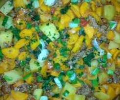 Kartoffel-Möhren-Hackfleisch-Pfanne (schnell)-auch all-in-one/RdT 20.01.15