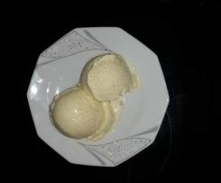 Holunderblüten-Minz-Cremeeis überraschend lecker