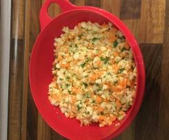 Kohlrabi-Möhren-Salat - Rohkost