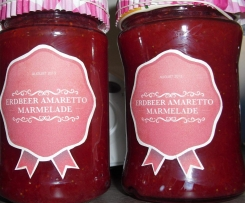 Erdbeer Amaretoo Marmelade