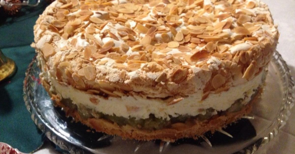 Stachelbeer Baiser Torte Von Katrin Lewohl Ein Thermomix Rezept