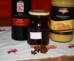 """Weihnachtmarktgenuss fürs Frühstück  """"Glühweingelee mit Orangensaft"""""""