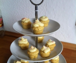 Mini-Vanille-Cupcakes