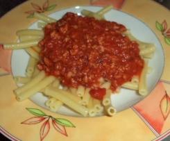 Vegetarische Nudelsauce a la Bolognaise