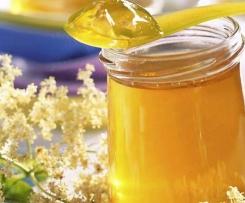 Holunderblüten Gelee mit Orangensaft