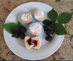 Mini-Brombeer Muffins
