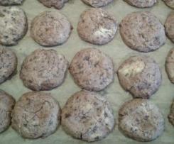 Schoko Cookies fast vegan