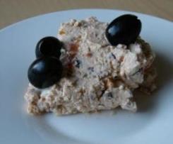 Fetacreme / Schafskäseaufstrich mit Oliven