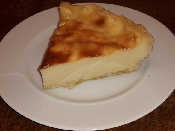 Franzosischer Puddingkuchen Flan Patissier Von Pirep Ein