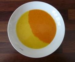 Rot - Gelbe Paprikasuppe