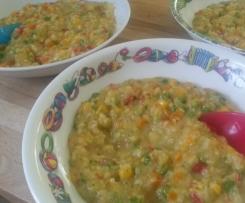 Gemüserisotto für Kinder
