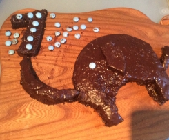 Rübli Elefanten Kuchen