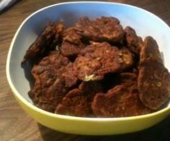Zwiebel Bhajees mit Joghurt-Dip