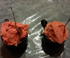Mango-Himbeer-Eis