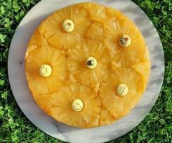Ananaskuchen upsidedown - verkehrt herum