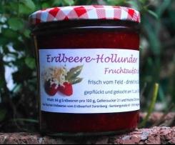 Erdbeere - Holunder - Marmelade