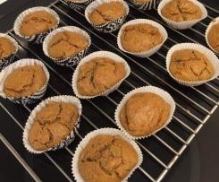 Herzhafte Rucola-Tomaten-Muffins vegan