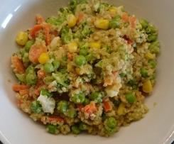 Schnelles Quinoa-Gemüse