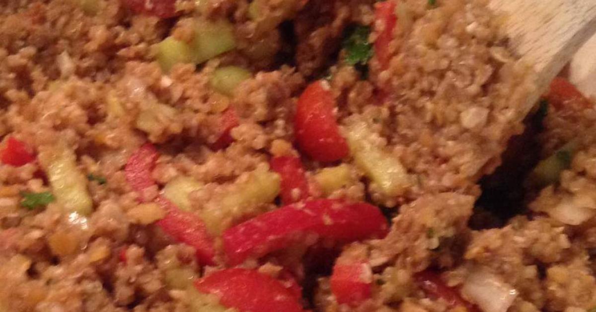 quinoa linsen salat von gomisch ein thermomix rezept aus der kategorie beilagen auf www. Black Bedroom Furniture Sets. Home Design Ideas