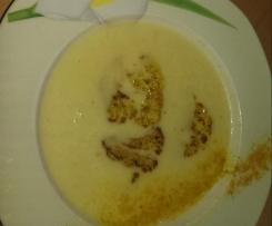 Leckerschmecker Blumenkohlsuppe mit Einlage