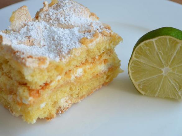 Zitronen Baiser Kuchen Lemon Meringue Cake Von Leodeli Ein