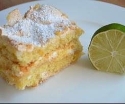 Zitronen-Baiser-Kuchen (Lemon Meringue Cake)