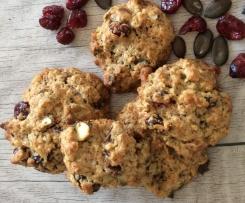 Studentenfutter-Cookies