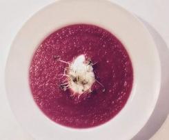 Rote Bete Suppe - schnell & einfach