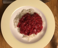 Rote-Beete-Curry