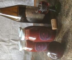 Pflaumen-Rotwein Sauce