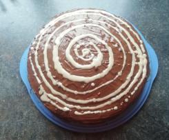 Schoko-Mandel-Orangen-Kuchen