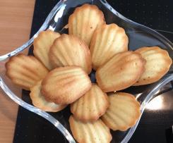 Dinkel Madeleines (kleine Portion & weniger süß)