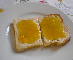 Rhabarber-Aprikosen-Marmelade