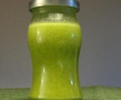 Variation von Salatsauce auf Vorrat, Essig -Öl-Senf...