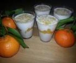 Orangen-Likör-Creme