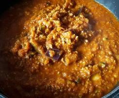 mediterrane Bolognese Soße - mit Karotten, frisch und vegan