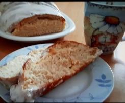 Hefezopf mit Quarkfüllung / Kaffeekuchen