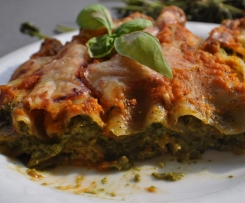 Spinat-Frischkäse-Cannelloni