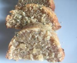 Herzhafte Croissant-Scheiben