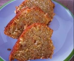 Apfel-Möhren-Nuss Kuchen