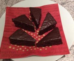 Schneller Lebkuchen mit Cranberries