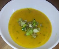 Kürbissuppe leichte Variante