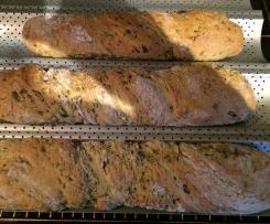 Bärlauch-Baguette