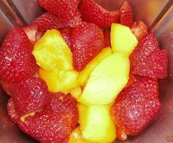 Erdbeer- Marmelade ggf.m. Mango