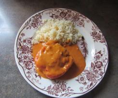 Gefüllte Paprikaschoten mit Reis