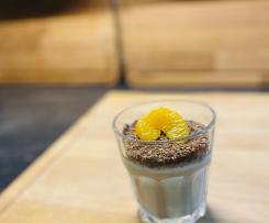 Sahne Quark mit Hanuta Crunch