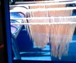 Nudel Teig für Teigmaschine