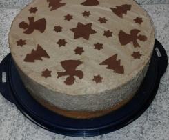 Schokosahne- Torte