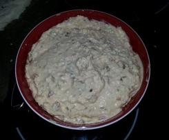 Schafskäse-/Fetacreme mit getrockneten Tomaten